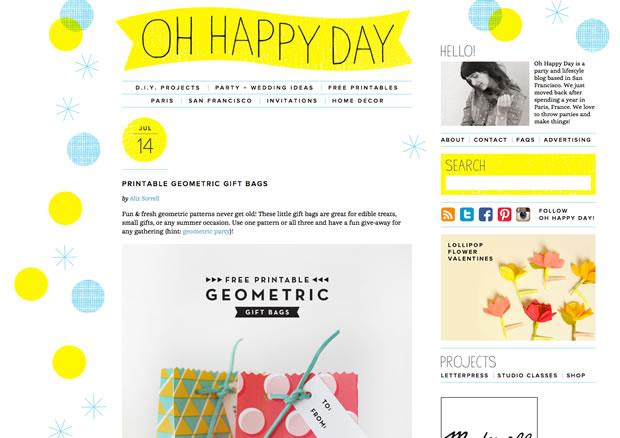 Oh Happy Day!の公式サイト