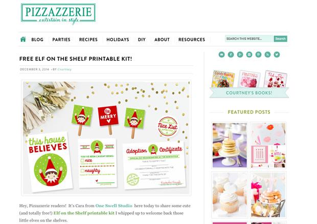 Pizzazzerieの公式サイト