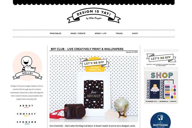 Design Is Yay !の公式サイト