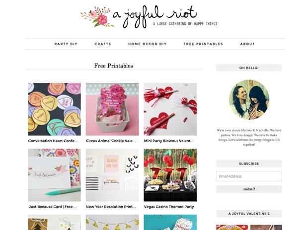 A Joyful Riotの公式サイト