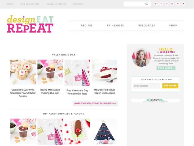 Design Eat Repeatの公式サイト