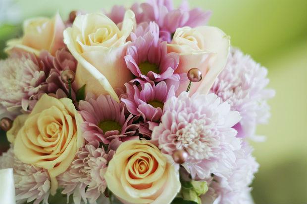 バラの花束の写真