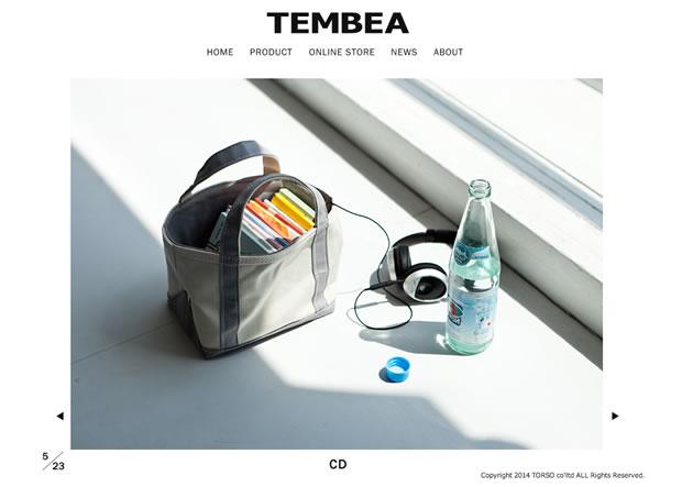 TEMBEA(テンベア)のミニトートバッグ