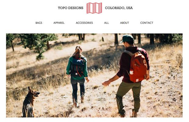TOPO DESIGNS(トポデザイン)のバックパック