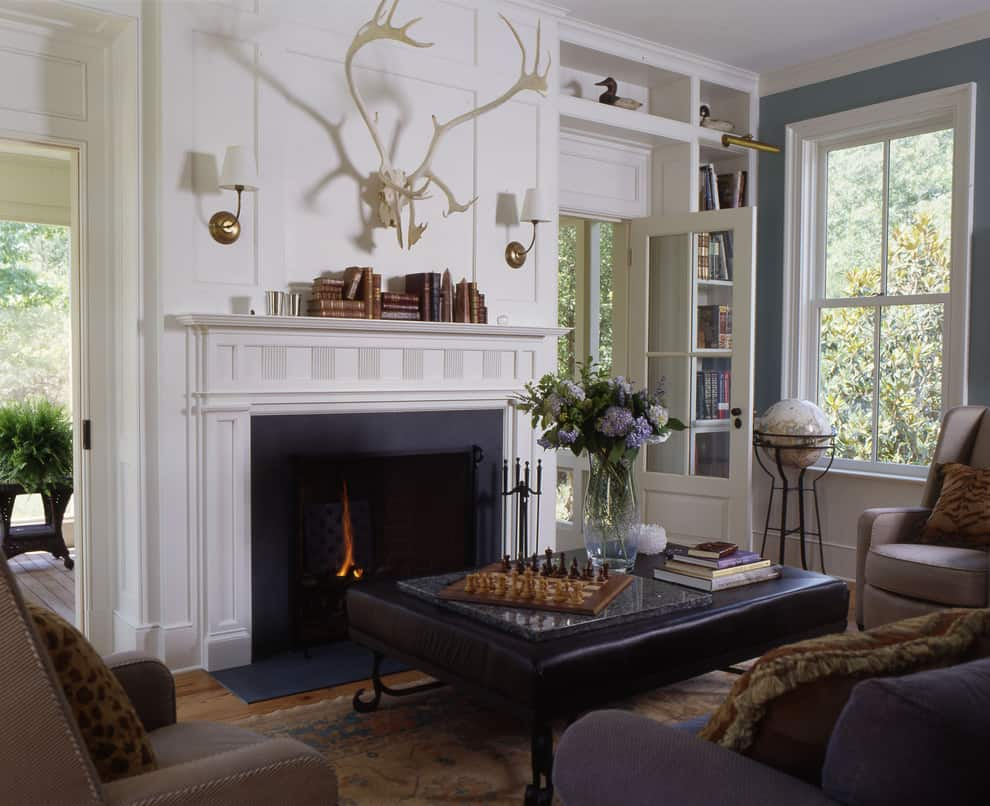 100  Fireplace Mantel Decorating Ideas  WITH PICTURES   Mantel Decorating Idea   Books