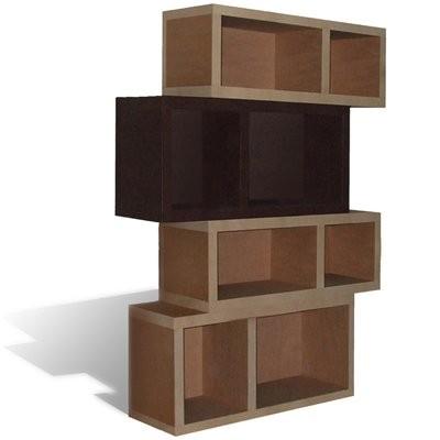 etag res en carton modulables deco tendency. Black Bedroom Furniture Sets. Home Design Ideas