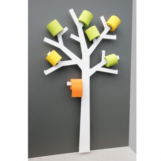 Arbre porte papier wc d co design blog deco tendency - Deco avec rouleau papier wc ...
