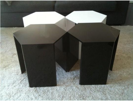 table basse modulable acrylique blog d co tendency. Black Bedroom Furniture Sets. Home Design Ideas