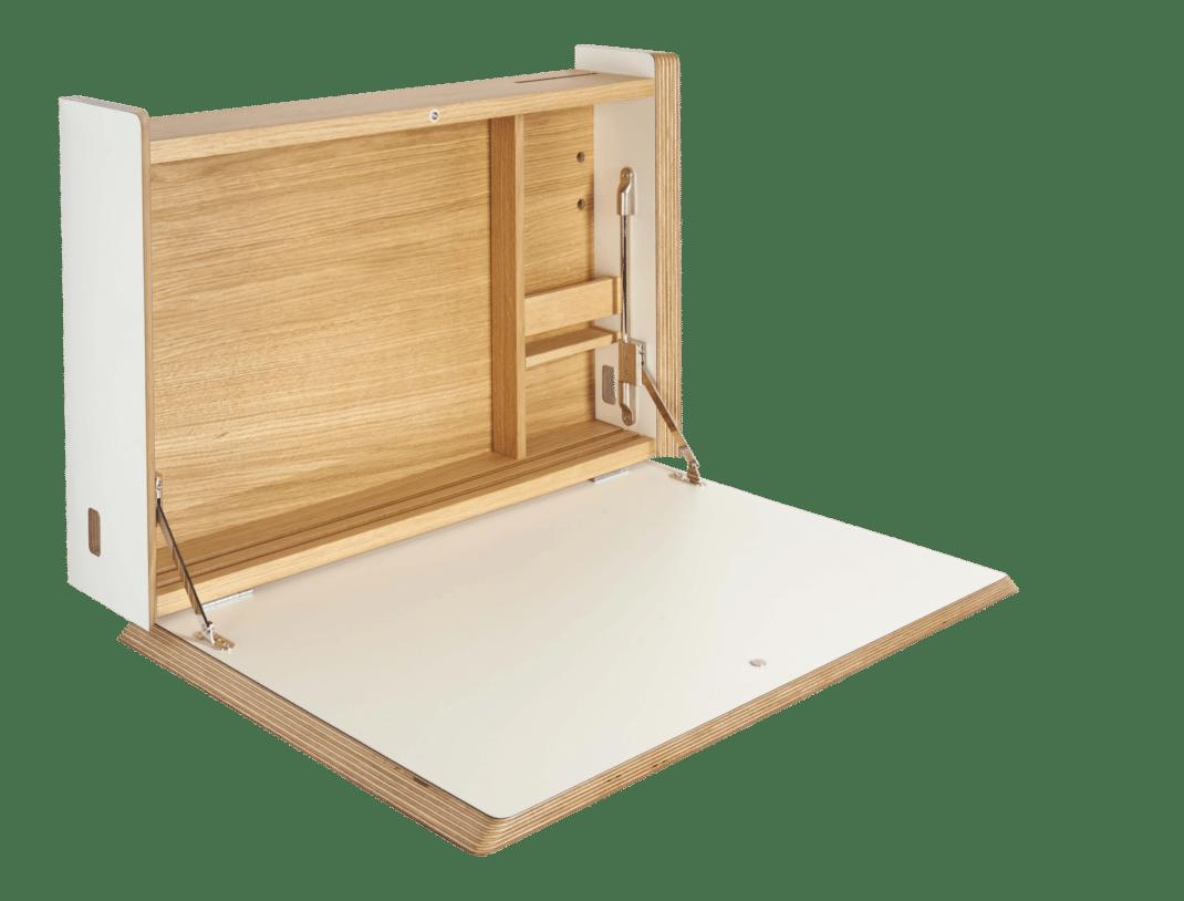 Secr taire mural lequel et comment le choisir for Secretaire meuble habitat