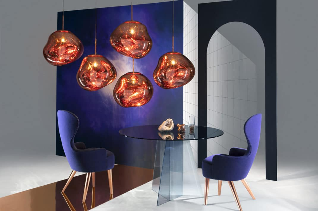 suspension melt mini by tom dixon gagner. Black Bedroom Furniture Sets. Home Design Ideas