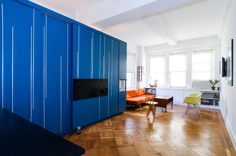 Gagner de la place dans un petit appartement for Gagner de la place dans un studio
