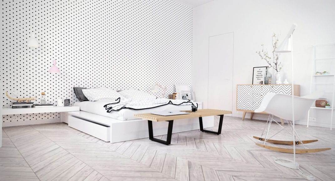 D coration de chambre scandinave id es et inspirations for Decoration scandinave