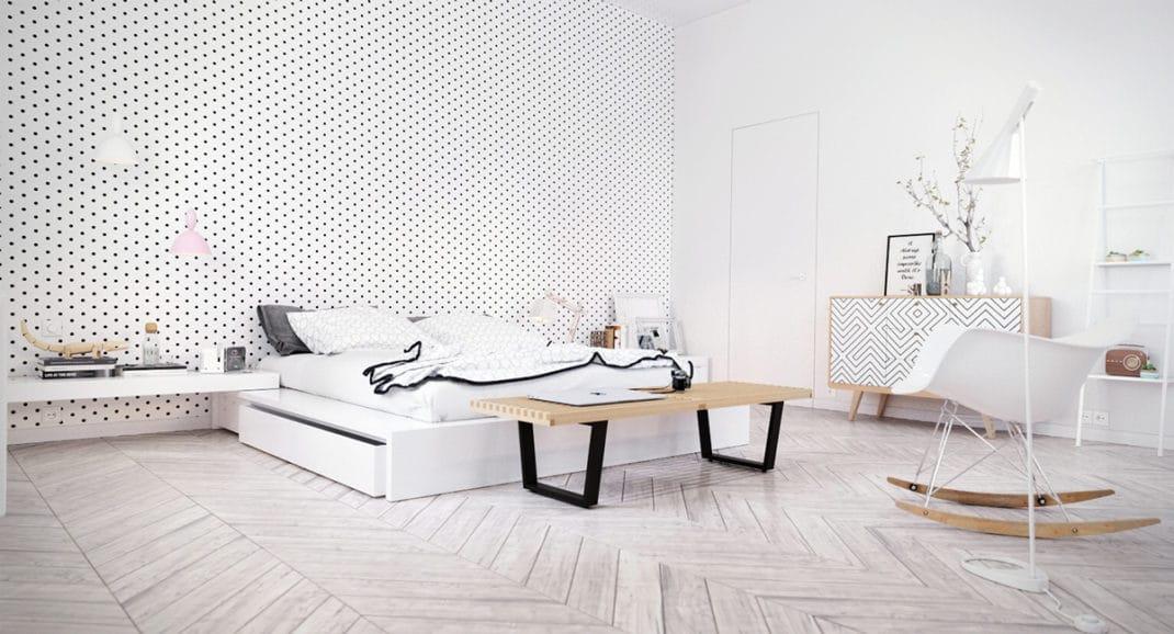 D coration de chambre scandinave id es et inspirations - Palette de couleur scandinave ...