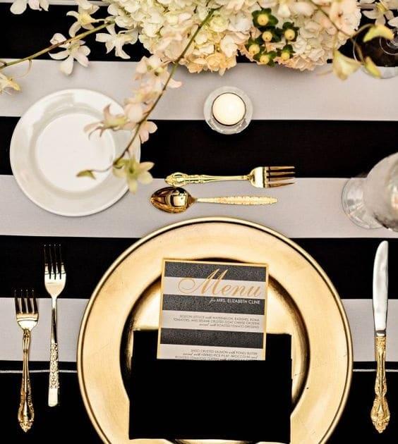 Art de la table 10 tapes pour dresser une table formelle for Dresser table couverts