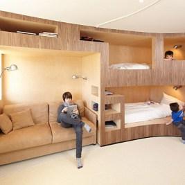 lits superposés modernes design originaux