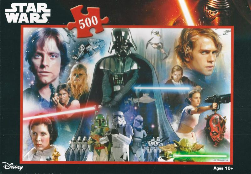 Large Of Star Wars Puzzle