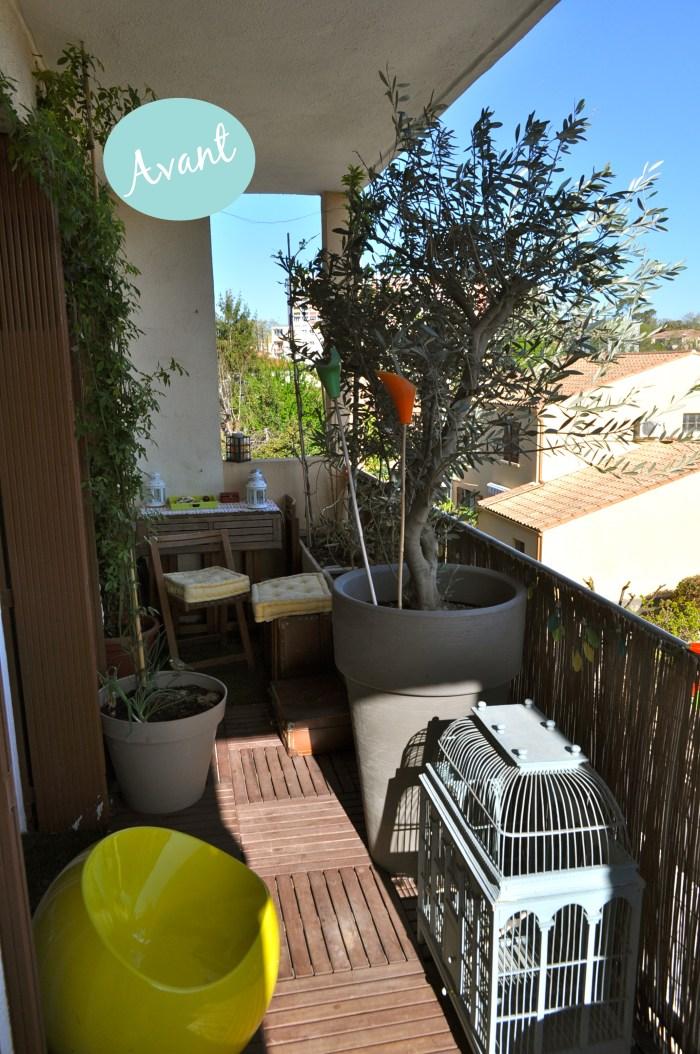 Avant apr s ma terrasse prend des airs boh me chic pour - Decoration balcon long et etroit ...