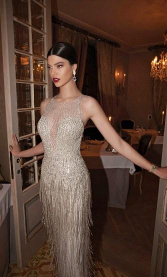 1920s Fringed Wedding Gown || Berta