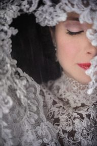 1920s Lace Bridal Sleeves