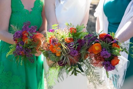 1920s Style Wedding Bouquets