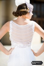 1920s Wedding Dress Back