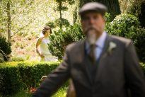 1920s Wedding First Look