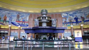 Art Deco Lobby || Union Terminal