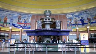 1930s Train Station Lobby
