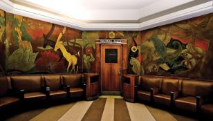 Art Deco Mural || Union Terminal