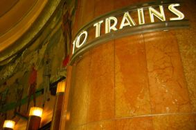 Art Deco Train Sign || Union Terminal
