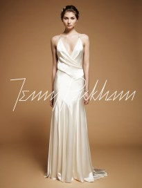 Bias Cut Wedding Gown || Jenny Packham Drew