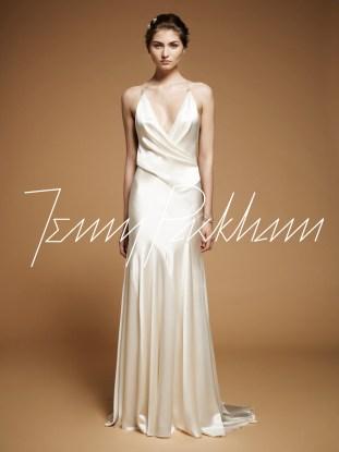 Bias Cut Wedding Gown