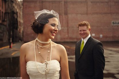 Roaring Twenties Bride + Groom