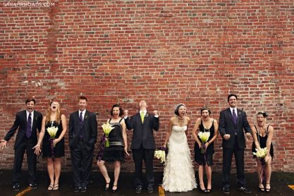 Roaring Twenties Wedding Party