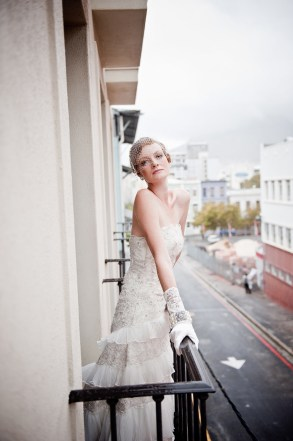 Art Deco Bride Balcony
