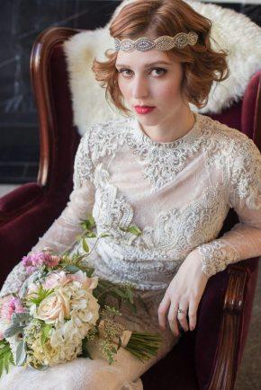 Art Deco Bridal Headband