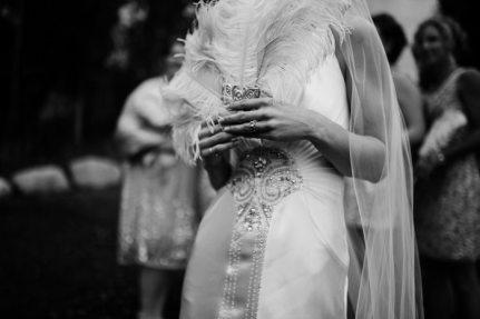 Art Deco Feather Bouquet