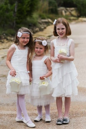 Art Deco Flower Girls