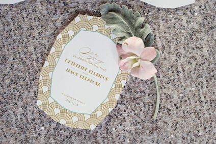 Art Deco Invitation