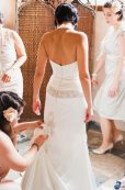 Art Deco Wedding Dress Train