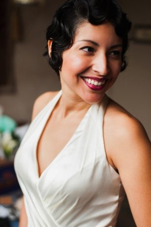 Art Deco Wedding Hair