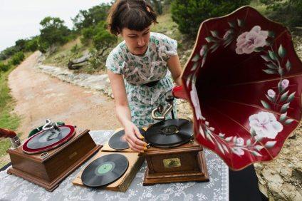 Art Deco Wedding Phonographs