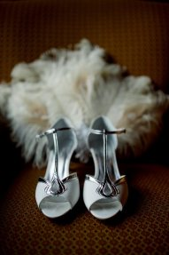Art Deco Wedding Shoes