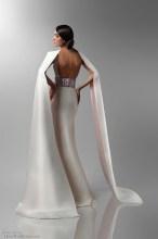 Art Nouveau Wedding Dress | Isabel Zapardiez