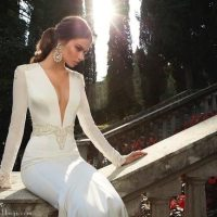 Daring Art Deco Wedding Gowns || Berta