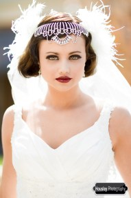 Flapper Bride Feathers