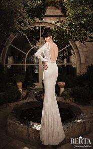 Low Back Wedding Gown || Berta