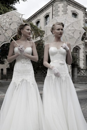 Magic and Lian Wedding Dresses by Galia Lahav