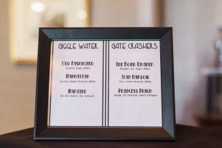 DIY Speakeasy Theme Wedding Decor