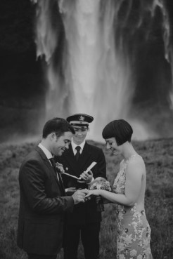 Vintage Inspired Waterfall Wedding